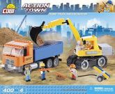 ACTION TOWN DUMP TRUCK AND EXCAVATOR 400KL
