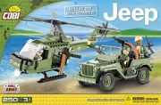 JEEP WILLYS MB WITH HELICOPTER 250K