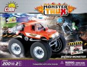 MONSTER TRUX RED-PULL BACK 200KL.