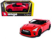 1:24 NISSAN GT-R2017 RED