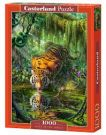 PUZZLE 1000 EL.- TIGER IN THE JUNGL
